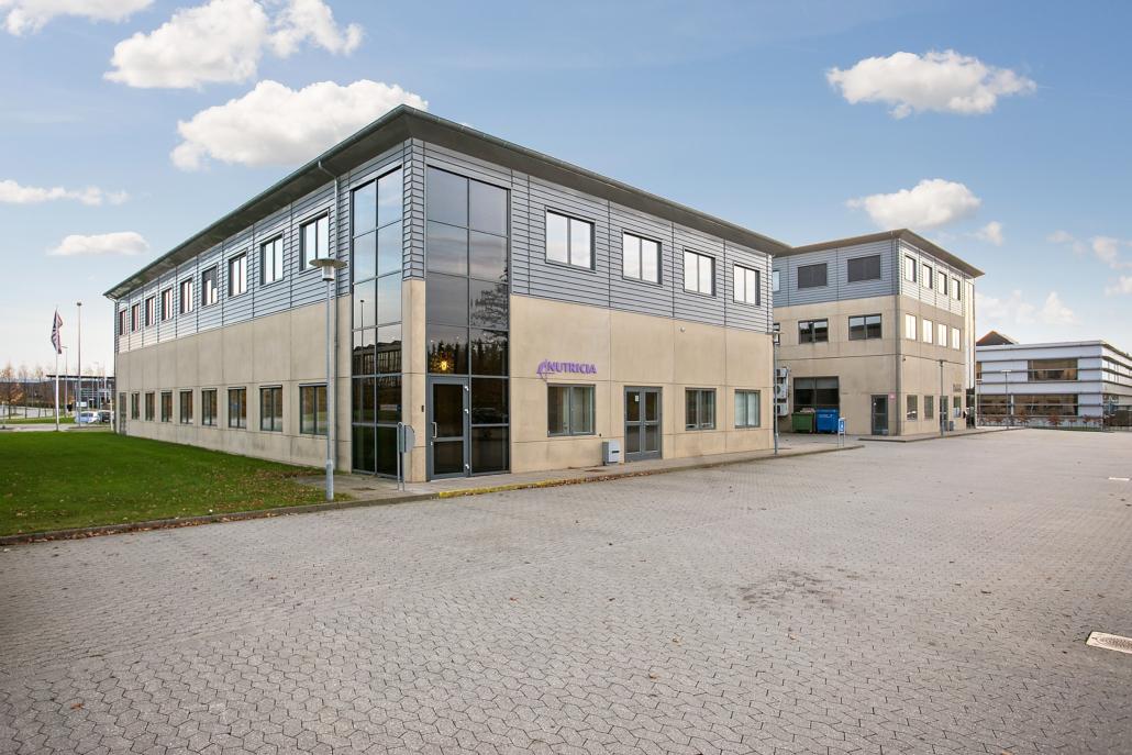 Her er kontorhotellet hvor der er plads til mange danske virksomheder, der vil leje kontor i Allerød